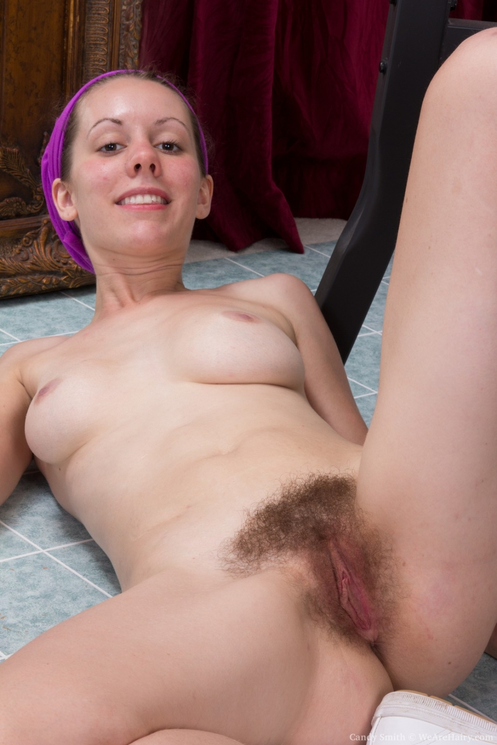 Cum in hairy