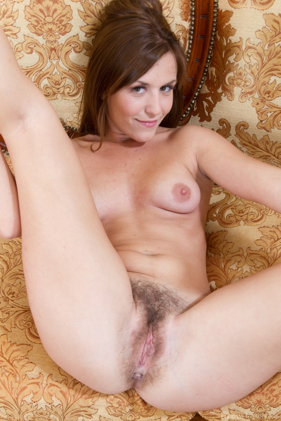 This rather Nude girl hairy