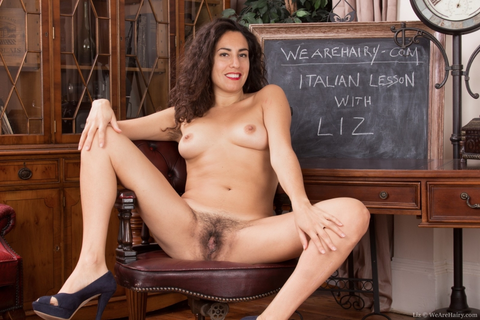 italian hairy nude woman