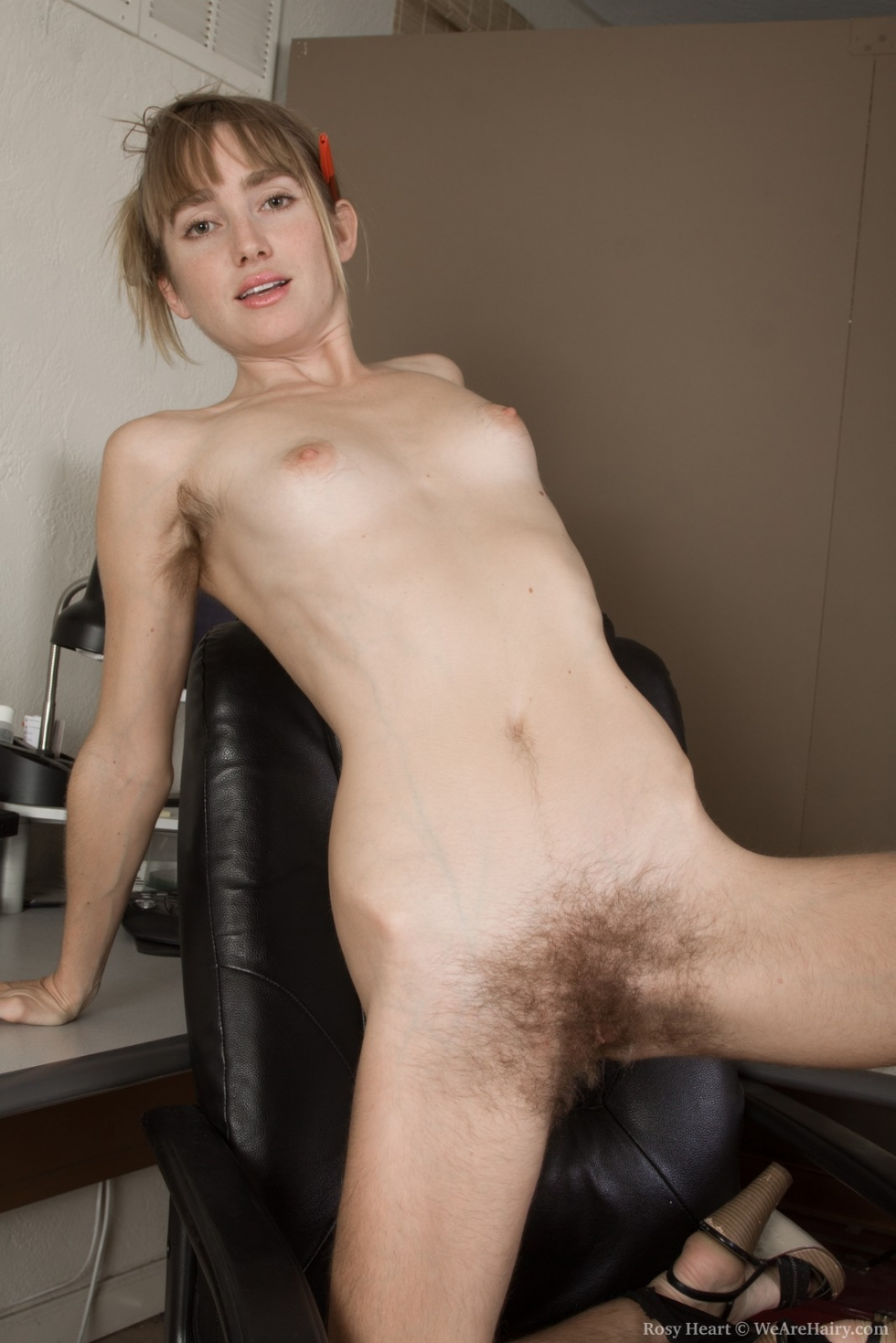 extremely hairy naked girl