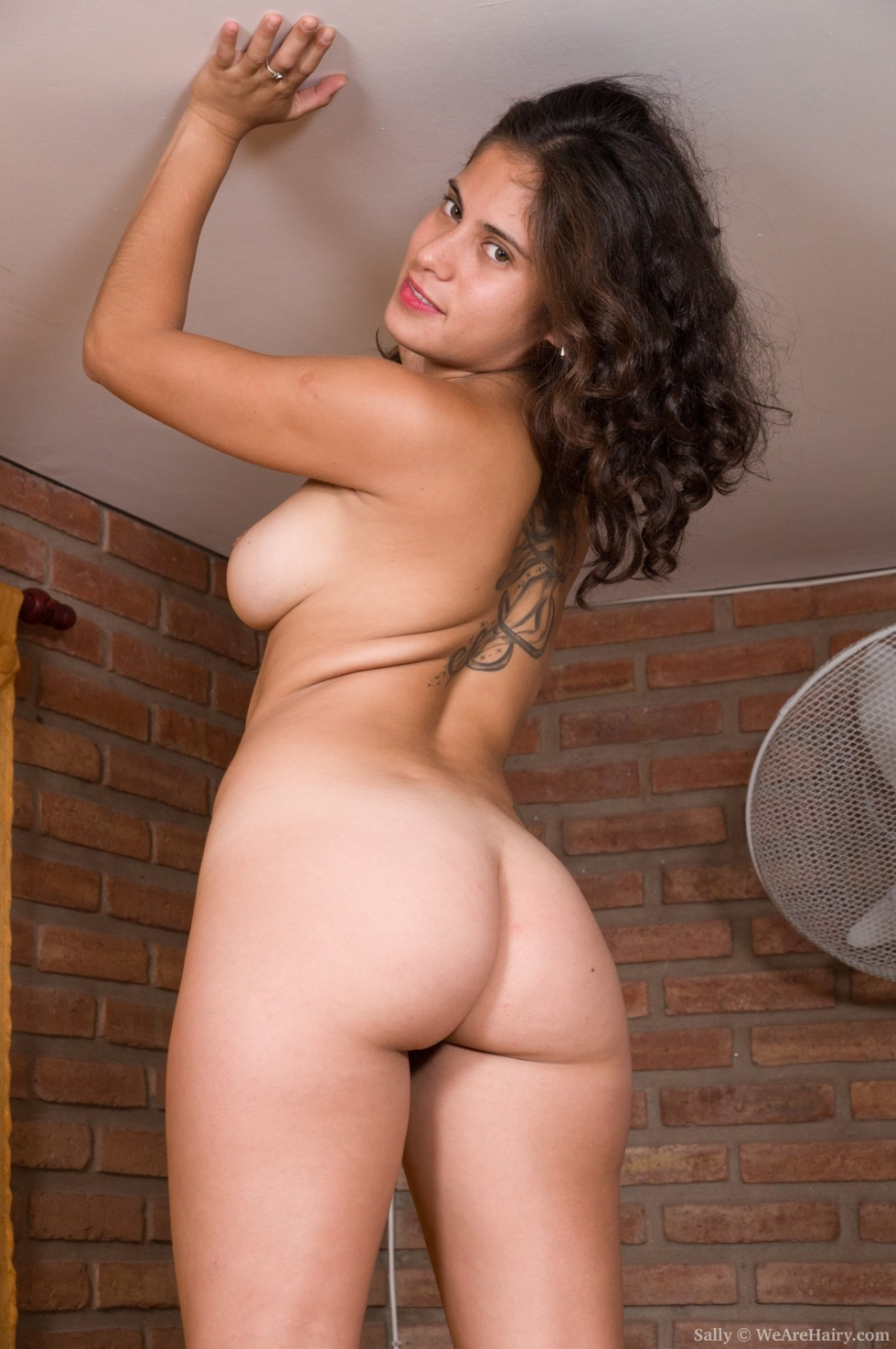 Beautiful hairy pussy nude something also